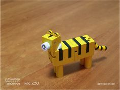 Tiger LEGO craft