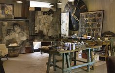 alamodeus: Artist's studios ...