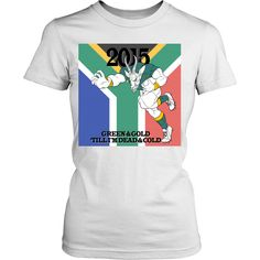 Rugby World Cup 2015 - Springboks - Green and Gold (women, English)