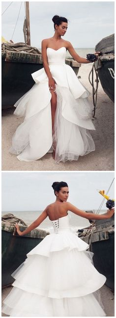 White Ivory Lace Wedding Dress Bridal Gown custom Size sold by olesa wedding shop. Shop more products from olesa wedding shop on Storenvy, the home of independent small businesses all over the world. Ivory Lace Wedding Dress, Colored Wedding Dresses, Dream Wedding Dresses, Bridal Dresses, Wedding Gowns, Prom Dresses, Wedding White, Wedding Dress Big Bust, Love Is In The Air
