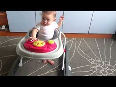 My baby girl is starting to use the baby walker Twins, Daddy, The Originals, Chair, Youtube, Decor, Decoration, Dekoration, Inredning