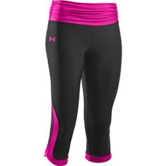 cute workout clothes under armour shatter capri