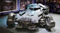 Here's Your First Look at Batman v Superman's Batmobile