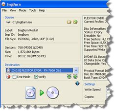 ImgBurn is a lightweight CD / DVD / HD DVD / Blu-ray burning application that everyone should have in their toolkit!