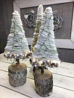 Moderne kerstboompjes
