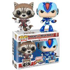 Marvel Vs. Capcom - Rocket vs Mega Man Pop! Vinyl Figure 2-Pack