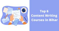 Will you like to become a content writer for Bihar? Looking for top Bihar Content Writing courses? Ok, here's a full-proof list for your reference of the best 6 content writing courses in Bihar. Have a look and pick the most fitting content writing course according to your specifications. Content Writing Courses, How To Become, Writer, Top, Writers, Crop Tee