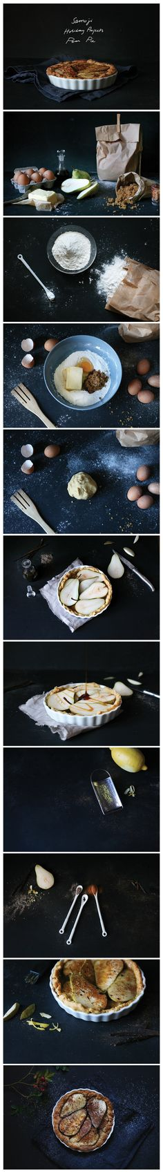 Samuji Holiday Projects: Pear Pie