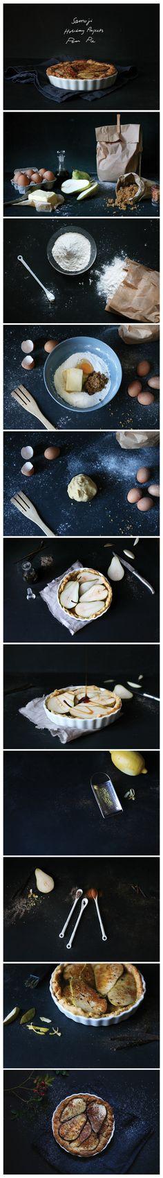 Samuji Holiday Projects: Pear Pie
