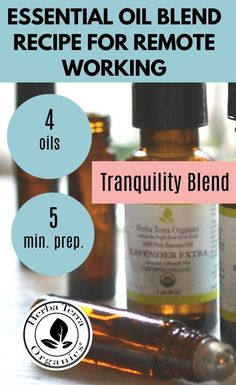 Make your own 100% Natural Tranquility Blend ! It consists of Lavender, Geranium, Frankincense, and Ylang- Ylang essential oils. It helps to promote a tranquil, soothing environment that is conducive to a restful night sleep. - Our DIY solution is a quick 2-minute recipe, super easy and VERY AFFORDABLE to make at home. Tap the Image to get this recipe NOW. #herbaterraorganics #organicoils Helichrysum Essential Oil, Clary Sage Essential Oil, Frankincense Essential Oil, Lemongrass Essential Oil, Essential Oil Diffuser, Essential Oil Blends, Essential Oils For Memory, Home Spa Treatments, Aromatherapy Recipes