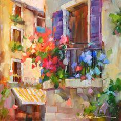 Bella Balcone - Original Fine Art for Sale - © Dreama Tolle Perry