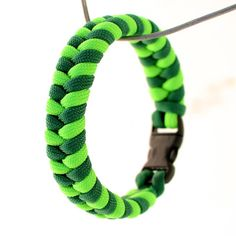 I love that you can custom colors! Good for sporting events & groups! Paracord Bracelet  Fishtail Switchback Survival by JoshsSexyStraps, $10.00