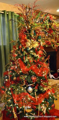 Christmas Tree Decorating Tips...