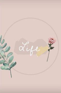 Flowery Wallpaper, Pastel Wallpaper, Iphone Wallpaper, Instagram Logo, Instagram Feed, Hight Light, Flower Frame Png, Insta Icon, Photos Tumblr