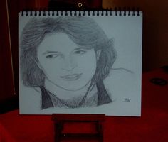 ANDY GIBB/CELEBRITY REALISM GRAPHITE PENCIL DRAWING SMALL 11X14 BY ARTIST BW #Realism