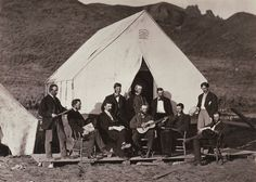 Members of the Rocky Mountain Glee Club 1864-1869.