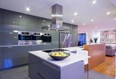 Image result for open plan kitchen designs