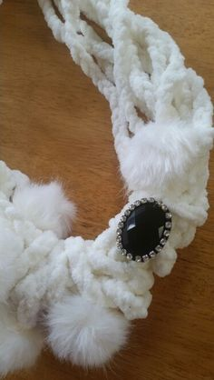 Wool and button