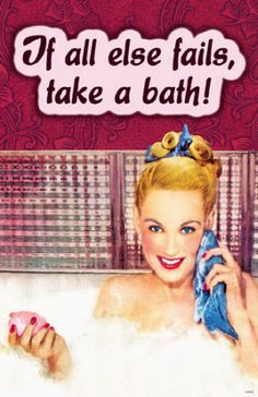 Use good soap... and a bath fizzy, and a Yankee Candle! #YankeeCandle #MyRelaxingRituals #RubyLane