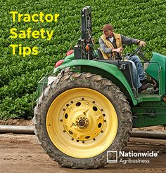 Farm tractors are involved in a high percentage of farm injuries and fatalities. Fortunately, most accidents can be prevented by following basic tractor safety guidelines. Learn more: http://www.nationwide.com/farm-tractor-safety.jsp