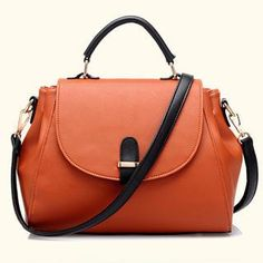 Buy 'BeiBaoBao – Faux-Leather Flap Satchel' with Free International Shipping at YesStyle.com. Browse and shop for thousands of Asian fashion items from China and more!