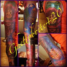 Full color sleeve I did