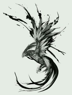 I feel the Phoenix has often been overused in tattoos but I love its symbolism
