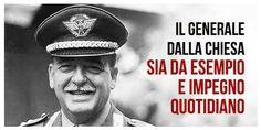 Onori ak Generale Dalla Chiesa nel XXXII anniversario dell'assassinio mafioso…