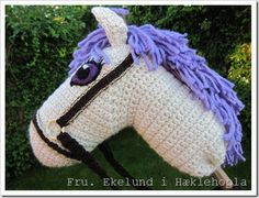 I love old-fashioned things like this Hobby Horse!