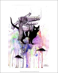 Watercolors by Lora Zombie