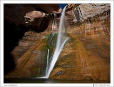 Lower Calf Creek Falls    Escalante, Utah