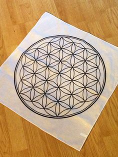 Flower Of Life Grid Cloth February 2017