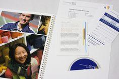 Capital Campaign Brochure by Kurtis Tucker, via Behance
