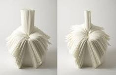 Pleated Recycled Textile Chair by Nendo Fabric Manipulation Techniques, Garment Manufacturing, Pleated Fabric, Recycling, Textiles, Chair, Cabbage, Japan, Google Search