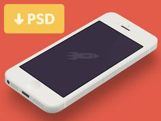 Yes, yet another iPhone 5 template...I want a minimal iPhone template to present some designs. MinimusV is great but it is not 3D. So I tried to build one by myself. You can check out the preview f...