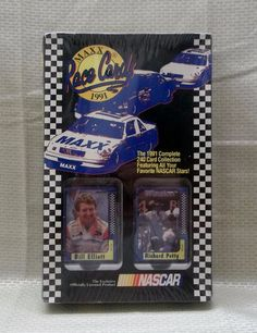 1991 Maxx Race Cards Complete 240 Card Collection All NASCAR Stars New in Box