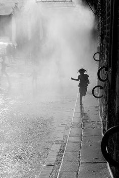 Paris Plage IMPROVED! by Sally Kamille, via Flickr