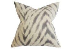Animal 18x18 Cotton Pillow, Brown 59
