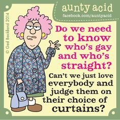 Aunty Acid Explain It All - When Animals Attack