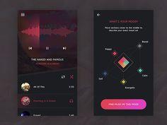 Music Mood Concept by Kyran Leech