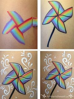 Pinwheel by Gretchen Fleener: click for step by step and list of tools/supplies!