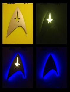 Star Trek Wall Lamp by Szilvi