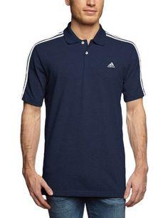 adidas Herren Polo Essentials 3S Shirt, Collegiate Navy White, M, X13519