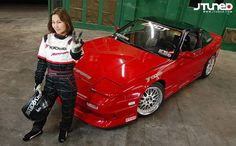 Nadine Hsu, lady drifter from team Drifting Pretty Women Drivers, Skater Girls, Female Images, Trending Memes, Race Cars, Feminine, Lady, Pretty, Racing