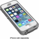 LifeProof - nüüd Case for Apple® iPhone® 5 and 5s - White - 2105-02 - Best Buy