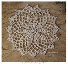 World crochet: Motive 12 Crochet Butterfly Pattern, Free Crochet Doily Patterns, Crochet Flower Tutorial, Crochet Circles, Crochet Lace Edging, Thread Crochet, Love Crochet, Filet Crochet, Vintage Crochet