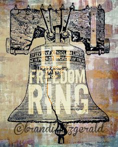 Let Freedom Ring Two   8 x 10  Philadelphia by BrandiFitzgerald, $20.00