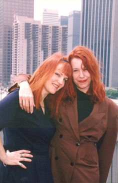Cynthia Plaster Caster (left) with  Pam Des Barres (Pamela is an author, pre-punk groupie of international fame and (always) a music super fan, and Cynthia has continued her craft into the 21st century. Fantastic concept, Cynthia! She has expanded into making breast casts of female rockers.)