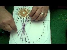 #video tuturial for the #string art, which is similar to #spirelli  Learn the basics in this video from Suzanne McNeill...  visit me at My Personal blog: http://stampingwithbibiana.blogspot.com/