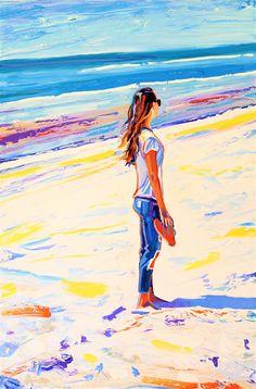 Summerburst: cm, oil on canvas - 9500 SEK + shipping Portrait Art, Oil On Canvas, Disney Characters, Fictional Characters, Paintings, Disney Princess, Artist, Paint, Painting Art